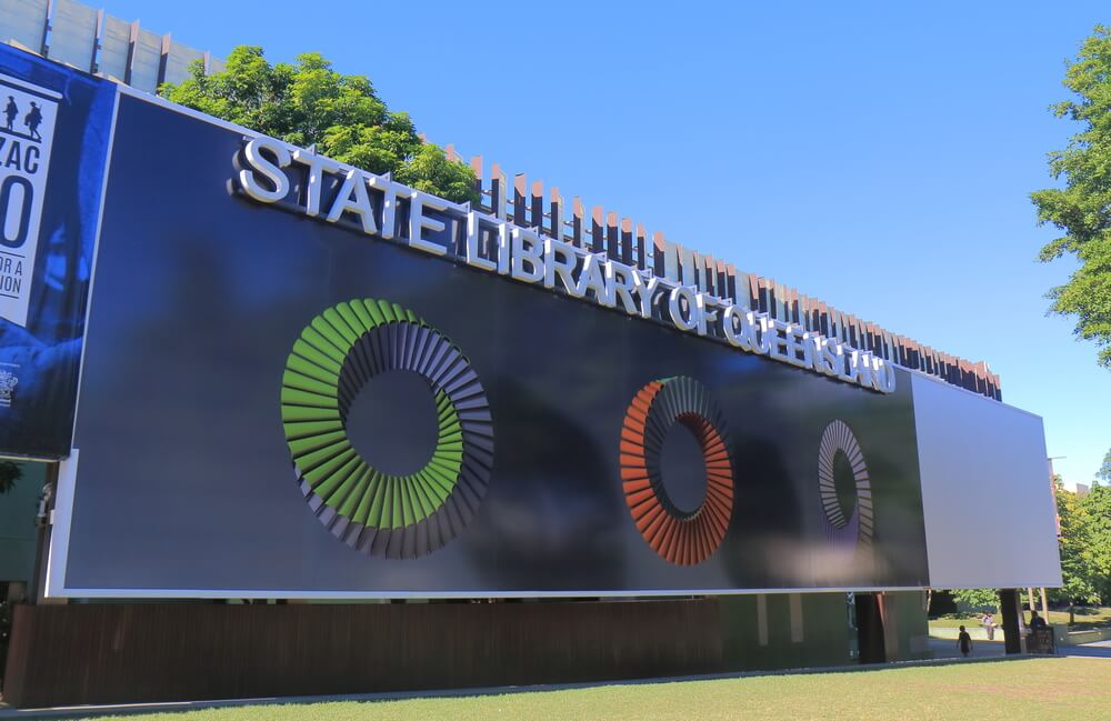 Queensland State Library, Southbank, Brisbane