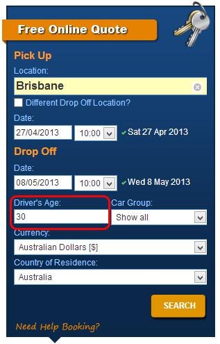 Driver's Age