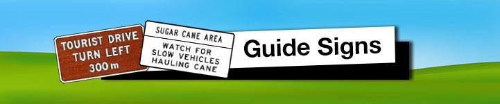 Guide Road Signs