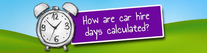 How Are Car Hire Days Calculated
