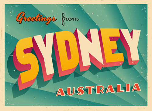 Greetings From Sydney