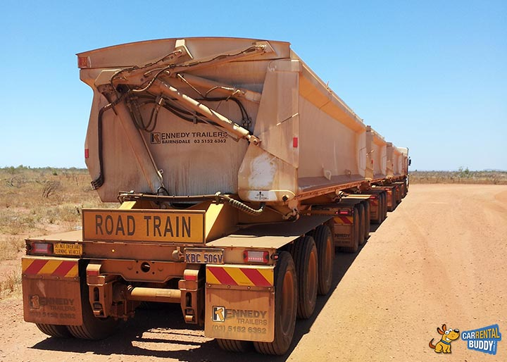 Road Train Signs