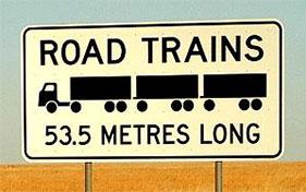Road Trains 53.5 Metres