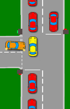 Blocking an Intersection