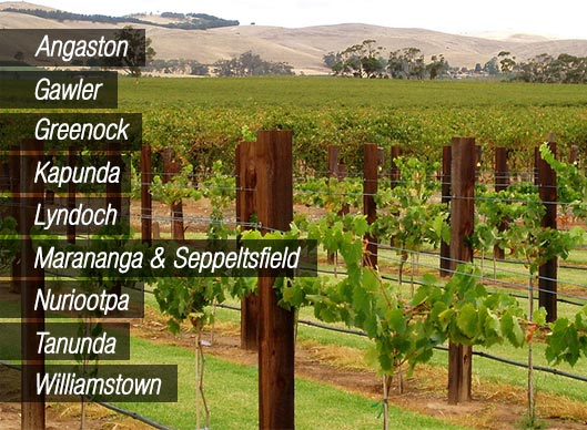 Towns of the Barossa Valley