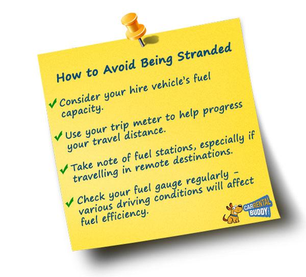 Car Hire Fuel Tips