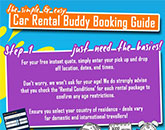 Car Rental Buddy Booking Guide Infograph