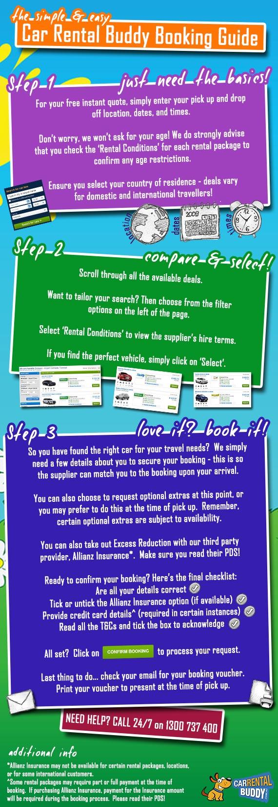 Car Rental Buddy Booking Guide
