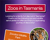 Check Out These Top Zoo Attractions in Tasmania Infograph