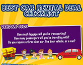 Guide to Getting the Best Car Rental Deal Infograph