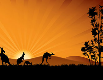 Travelling in Outback Australia