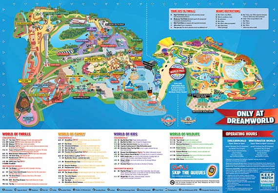 Dreamworld Map
