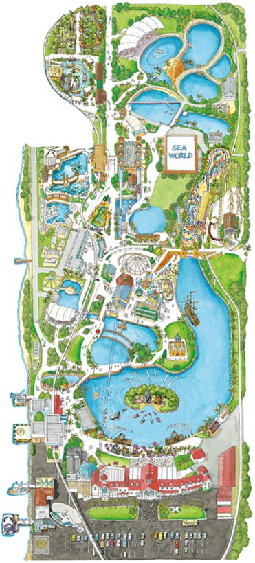 Sea world compare cheap car hire rates sea world map gumiabroncs Choice Image